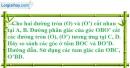 Bài 7 trang 99 SBT toán 9 tập 2