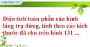 Bài 42 trang 144 SBT toán 8 tập 2