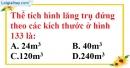 Bài 44 trang 145 SBT toán 8 tập 2