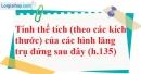 Bài 46 trang 145 SBT toán 8 tập 2