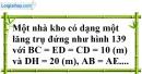 Bài 50 trang 146 SBT toán 8 tập 2