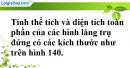 Bài 51 trang 147 SBT toán 8 tập 2