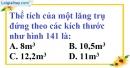 Bài 53 trang 147 SBT toán 8 tập 2