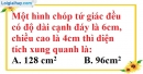 Bài 60 trang 150 SBT toán 8 tập 2