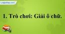 A. Hoạt động thực hành - Bài 10C: Ôn tập 3 - VNEN Tiếng Việt 4