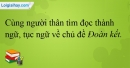 B. Hoạt động ứng dụng - Bài 10C: Ôn tập 3 - VNEN Tiếng Việt 4