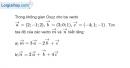 Bài 3.1 trang 103 SBT hình học 12