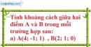 Bài 3.12 trang 104 SBT hình học 12