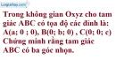Bài 3.13 trang 104 SBT hình học 12