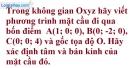 Bài 3.16 trang 104 SBT hình học 12