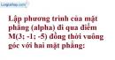 Bài 3.26 trang 115 SBT hình học 12