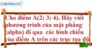 Bài 3.27 trang 115 SBT hình học 12