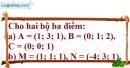 Bài 3.4 trang 103 SBT hình học 12