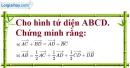 Bài 3.6 trang 103 SBT hình học 12