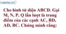 Bài 3.7 trang 103 SBT hình học 12