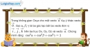 Bài 3.9 trang 104 SBT hình học 12