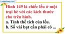 Bài 64 trang 151 SBT toán 8 tập 2