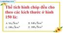 Bài 66 trang 152 SBT toán 8 tập 2