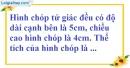 Bài 68 trang 152 SBT toán 8 tập 2