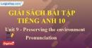 Pronunciation - Unit 9 SBT Tiếng anh 10 mới