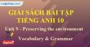 Vocabulary & Grammar - trang 28 Unit 9 SBT Tiếng anh 10 mới