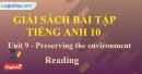 Reading - trang 31 Unit 9 SBT Tiếng anh 10 mới