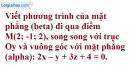 Bài 3.29 trang 115 SBT hình học 12