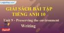 Writing -Unit 9 SBT Tiếng anh 10 mới