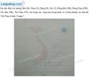 Bài 1 trang 8 Tập bản đồ Địa lí 6