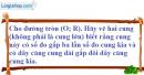 Bài 14 trang 101 SBT toán 9 tập 2