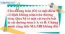 Bài 18 trang 102 SBT toán 9 tập 2