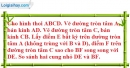 Bài 2.2 phần bài tập bổ sung trang 101 SBT toán 9 tập 2