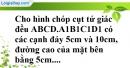 Bài 72 trang 153 SBT toán 8 tập 2