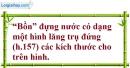 Bài 75 trang 154 SBT toán 8 tập 2