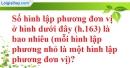 Bài 81 trang 156 SBT toán 8 tập 2