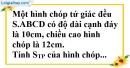Bài 85 trang 156 SBT toán 8 tập 2