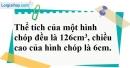 Bài 87 trang 157 SBT toán 8 tập 2