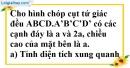 Bài 88 trang 157 SBT toán 8 tập 2