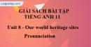 Pronunciation - Unit 8 SBT Tiếng Anh 11 mới