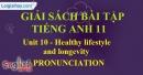 Pronunciation - Unit 10 SBT Tiếng Anh 11 mới