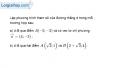 Bài 3.1 trang 146 SBT hình học  10