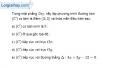 Bài 3.15 trang 154 SBT hình học  10