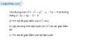 Bài 3.22 trang 155 SBT hình học  10