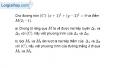 Bài 3.25 trang 156 SBT hình học  10