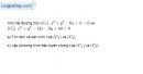 Bài 3.27 trang 156 SBT hình học  10