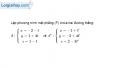 Bài 3.49 trang 133 SBT hình học 12