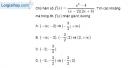 Bài 4.43 trang 113 SBT đại số 10