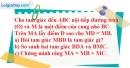 Bài 20 trang 102 SBT toán 9 tập 2