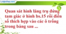 Bài IV.1 phần bài tập bổ sung trang 158 SBT toán 8 tập 2