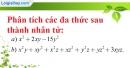 Bài 1 trang 182 SBT toán 8 tập 2